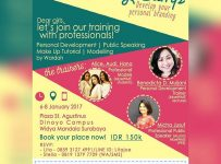 Beauty Camp : Develop Your Personal Branding - Unika Widya Mandala Surabaya, 6 - 8 Januari 2017
