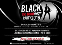 Black Tie Bond 007 Party 2016 - Emerald Garden Hotel Medan, 31 Des'16