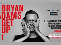 Bryan Adams Get Up Jakarta - The Ritz Carlton Pacific Place, 16 Januari 2017