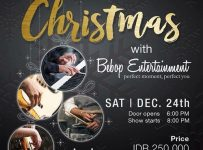 Christmas with Bebop Entertainment - Motion Blue Jakarta, 24 Desember 2016
