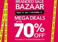 Debenhams Branded Sale Bazaar - The Hall Senayan City, 12 - 17 Desember 2016