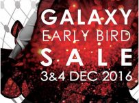 Galaxy Mall Surabaya Early Bird Sale, Periode 3 - 4 Desember 2016