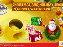 Go Wet Waterpark Christmas & Holiday Season Deal, Periode Sampai 31 Des 2016