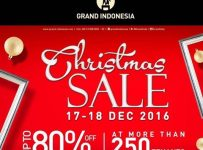 Grand Indonesia Christmas Sale, 17 - 18 Desember 2016