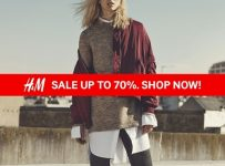 H&M End Of Season Sale Up To 70%, Periode Desember 2016