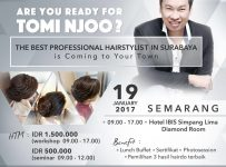 Hairdo Workshop with Tomi Njoo (Semarang) - Hotel Ibis Simpang Lima, 19 Januari 2017