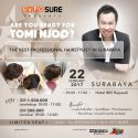 Hairdo Workshop with Tomi Njoo (Surabaya) - Hotel Ibis Rajawali, 22 Februari 2017