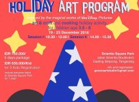 Holiday Art Program - Scientia Square Park Serpong, 19 - 23 December
