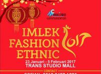 Imlek Fashion Ethnic - Trans Studio Mall Bandung, 23 Januari - 5 Februari 2017