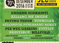 Indie Clothing Carnival - Jogja Expo Center, 23 - 25 Desember 2016