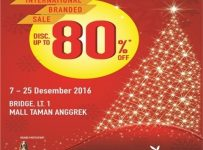 International Branded Sale Transmarco Group - Mall Taman Anggrek, 7 - 25 Desember 2016