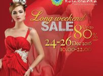 Kota Kasablanka Long Weekend Sale, Periode 24 - 26 Desember 2016
