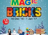 Lego Education Magic Bricks - Mal Artha Gading Jakarta, 16 Des'16 - 1 Jan'17