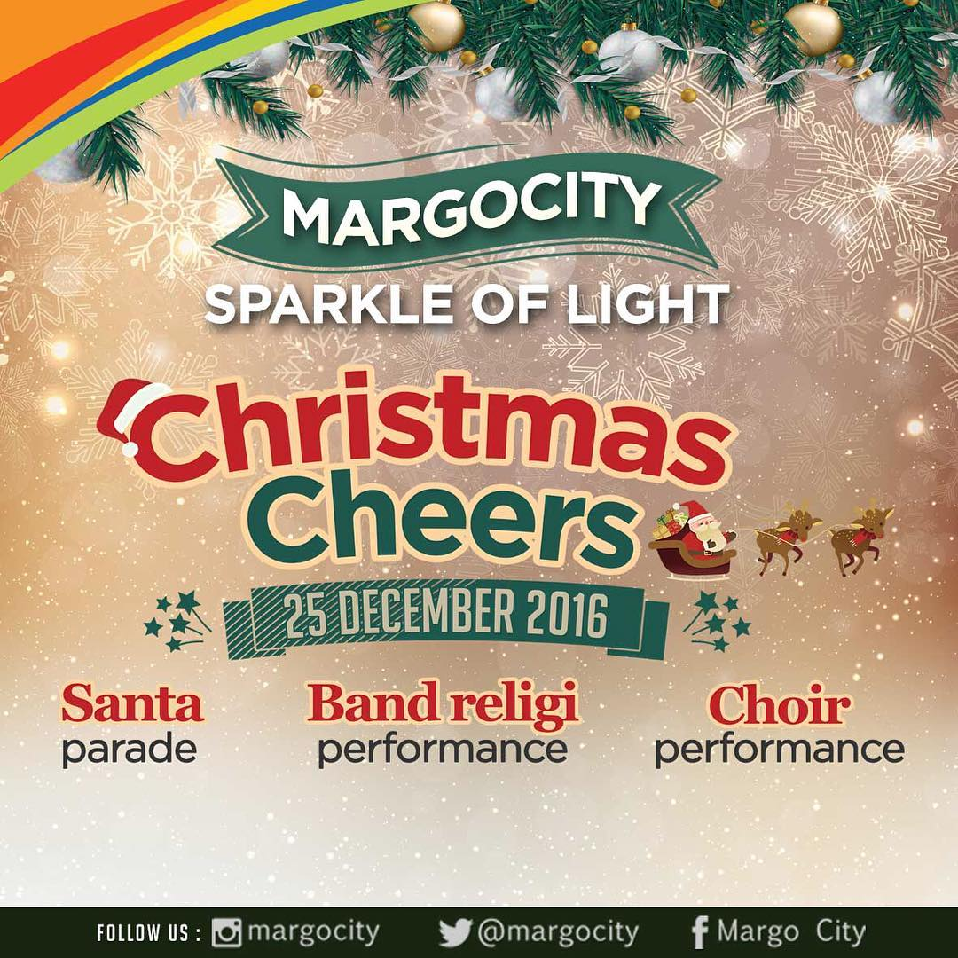 Margocity Sparkle of Light Christmas Cheers, 25 Desember 2016