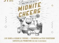 "New Year's Eve 2017 ""Midnite Cheers"" - Goodfellas Resto & Modus Bar Semarang, 31 Des'16"