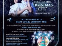 Now Jakarta Christmas City an Extraordinary Cosmic Christmas Celebration - Central Park Jakarta, 20 Nov - 8 Jan 2017