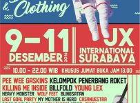 Pameran Distro & Clothing Surabaya - JX International, 9 - 11 Desember 2016