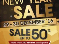 Paris Van Java New Year Sale, Periode 29 - 30 Desember 2016