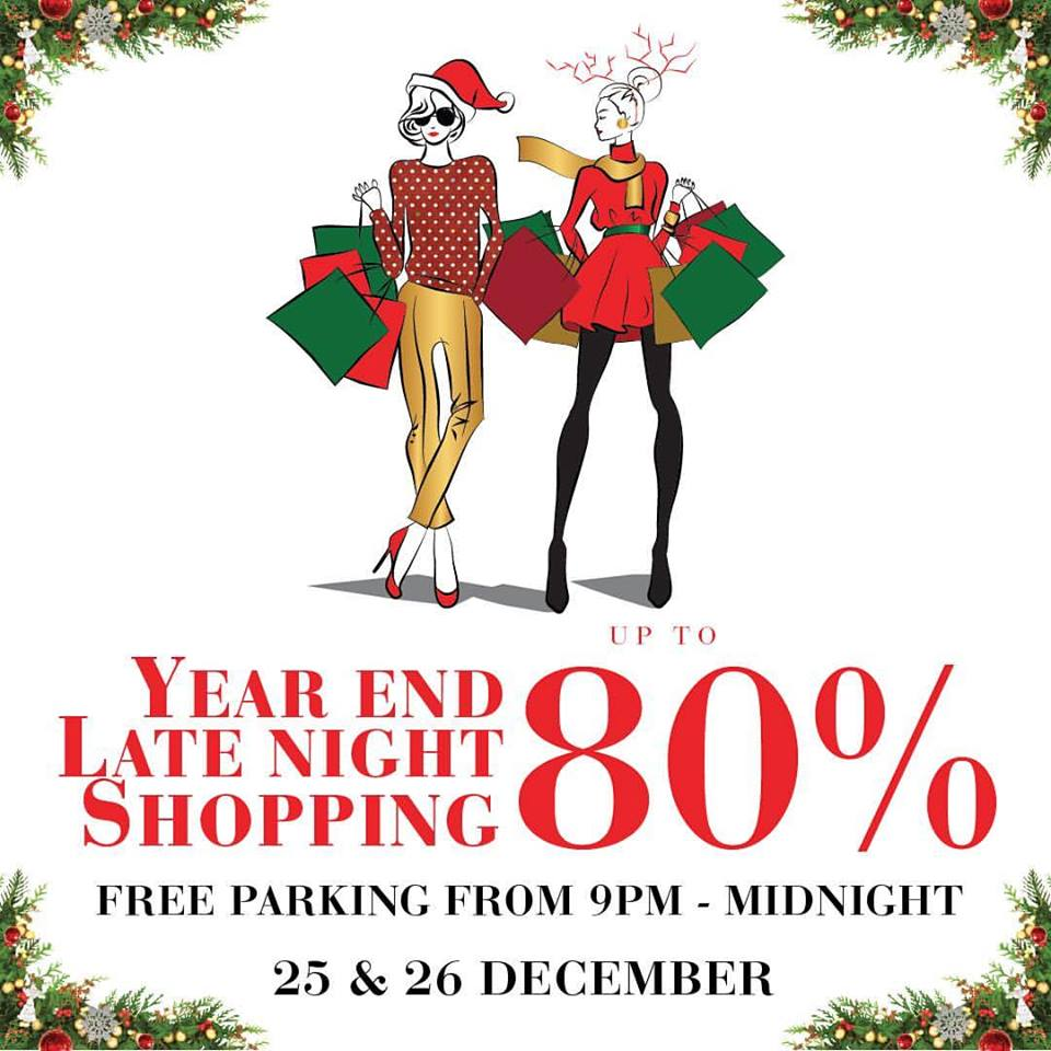 Plaza Indonesia Year End Late Night Shopping,  25 - 26 Desember 2016