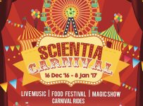 Scientia Carnival - Scientia Square Park Serpong, 16 Desember - 8 Januari 2017