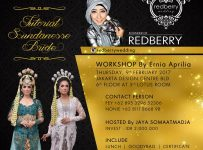 Semi Private Class Makeup dan Busana Pengantin Sunda Siger Bersama Redberry Wedding - Jakarta Design Center, 9 Feb'17