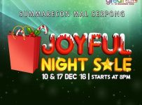 Summarecon Mal Serpong Joyful Night Sale, Periode 10 & 17 Desember 2016