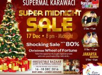 Supermal Karawaci Super Midnight Sale, Periode 17 Desember 2016