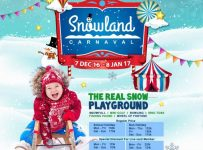 The 1st Snowland Carnaval in Indonesia - Living World Alam Sutera, 7 Desember - 8 Januari 2017