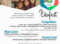 The 3rd NUFA Edu Fest 2017 - Nufa Islamic Education Center Bekasi, 06 - 11 Februari 2017