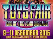 Toys Fair End of Year Big Sale - Graha Manggala Siliwangi Bandung, 9 - 11 Desember 2016
