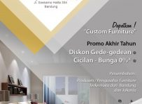 Year End Furniture Show - Bandung Convention Centre, 26 November - 4 Desember 2016