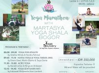 Yoga Marathon with Martasya Yoga Shala - Jakarta Design Center, 12 Januari - 12 Februari 2017