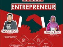 Youngpreneur Be Smart Entrepreneur - Universitas Muhammadiyah Malang, 20 Desember 2016