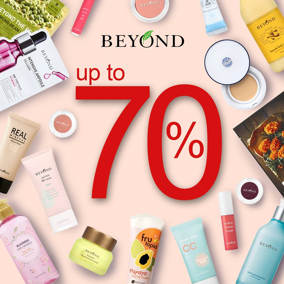 Beyond Discount Up to 70%,  Periode Sampai 15 Februari 2017