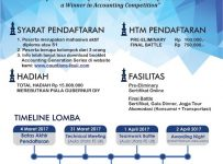COUNTIONS 2 : Battle and Lead in Accounting Competition - Universitas Islam Indonesia