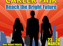 Career Fair Reach the Bright Future - Universitas Negeri Jakarta, 23 - 24 Maret 2017