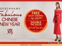 Debenhams Fabulous Chinese New Year, Periode 28 - 29 Januari 2017