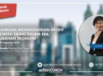 How to Increase Profit & Competitiveness in today's Changing Economy - Hotel Veranda Kyai Maja, 19 Januari 2017