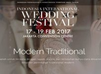 Indonesia International Wedding Festival - Jakarta Convention Centre, 17 - 19 Februari 2017