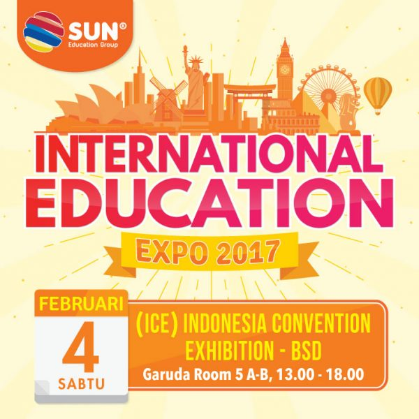 International Education Expo Tangerang - ICE BSD, 4 Februari 2017