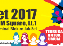 Job Fair ​Akbar ​Mall ​Blok M Square​, 7 - 8 Maret ​2017 ​