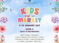 Kids Pop-Up Market - Pacific Place Jakarta, 5 - 29 Januari 2017