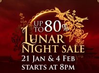 Lunar Night Sale Summarecon Mal Serpong, Periode 21 Januari & 4 Februari 2017