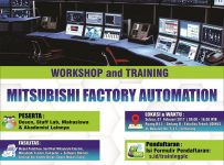 Mitsubishi Factory Automation Training and Workshop PLC - Universitas Dian Nuswantoro, 7 Feb 2017