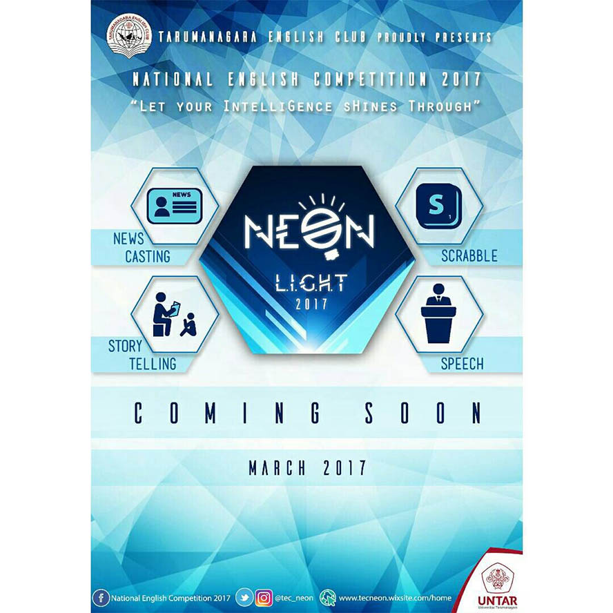 NEON (National English Competition 2017)