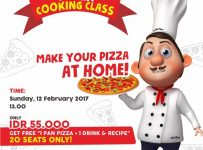 Pizza Cooking Class, Make your Pizza at Home - Stilrod Cafe Surabaya, 12 Februari 2017