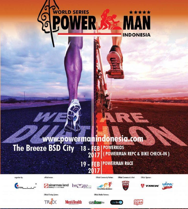 Powerman Indonesia Duathlon - The Breeze BSD City Tangerang, 18 - 19 Februari 2017