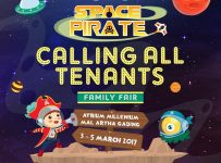 Space Pirate, Family Fair by Bambee - Mal Artha Gading, 03 - 05 Maret 2017