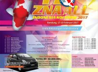 Spektakuler! 17th ZNA All Indonesia Koi Show - Graha Batununggal Indah Bandung, 17 - 19 Februari 2017