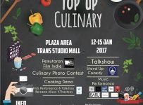 Top Up Culinary - Trans Studio Mall Bandung, 12 - 15 Januari 2017